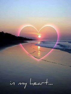 Love in my heart forever Heart In Nature, Heart Art, I Love Heart, Happy Heart, Heart Images, Love Wallpaper, In Loving Memory, Belle Photo, Beautiful Pictures