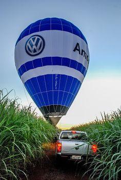 S P E E D C A L: Volkswagen Amarok será o veículo oficial do campeonato brasileiro de balonismo.