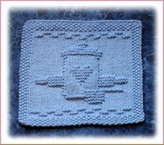 Baked With Love Free Knit Dishcloth Pattern