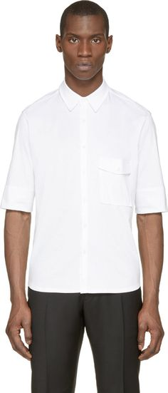 Lemaire White Technical Jersey Top