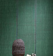 Papier peint vert, Elitis - Marie Claire Maison