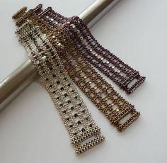 RAW-mantic Lace bracelet (not a pattern)