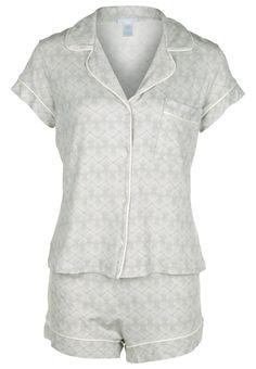 Eberjey LOOKING GLASS SET Pyjama glass grey Meer info via http://kledingwinkel.nl/product/eberjey-looking-glass-set-pyjama-glass-grey/