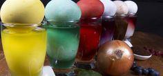 Ostereier färben: so geht's mit Naturmaterialien