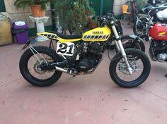 Yamaha TT Flat Track Edition. Polita Family Garage.