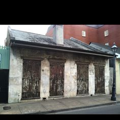 French quarter house.