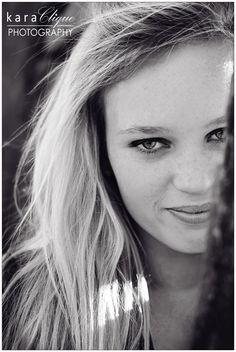 Black & White / Teenage / Portrait Photography  -  Amber Rose