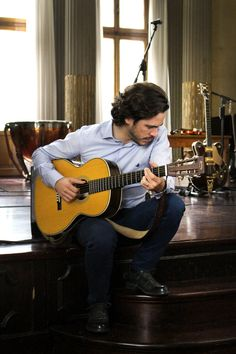 Backstage picture: SS16 Campaign featuring Jack Savoretti
