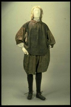 Genuine set of seamans slops as worn by sailors from the 16th to the 18th century