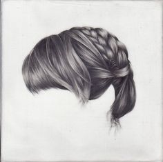 Drawing, braids.