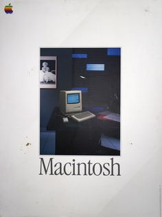 Macintosh - Vintage Apple Computer Poster