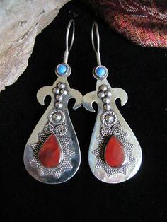 Gorgeous Kazakh Tribal Jewelry