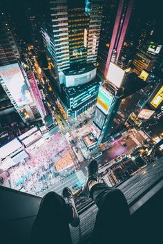 above times square by Anselm Wiethoff on 500px