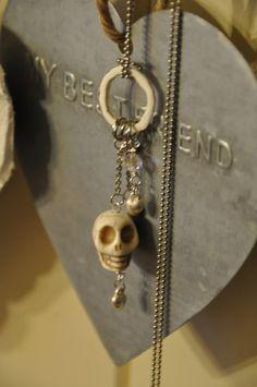 Necklace I made Washer Necklace, Jewels, Drop Earrings, Jewerly, Drop Earring, Gemstones, Fine Jewelry, Gem, Jewelery