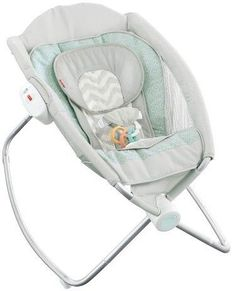 Sooth your baby to sleep with the Fisher-Price Deluxe Newborn Rock 'n Play Sleeper. This easy to fold and go baby rocker helps baby's with colic feel more comfortable at a great angle. Fisher Price, Baby Registry Items, Baby Items, Rock And Play, Baby Dome, Rock N Play Sleeper, Baby Rocker, Baby Bouncer, Baby Swings