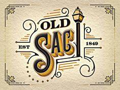 Old Sacramento Social Logo by Brandon Meier