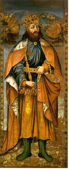 King Tridates 3 of Armenia by Mkrtum Hovnatanyan (1779-1845) (son of Hovnatan Hovnatanyan)