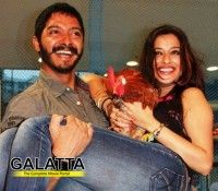 What does Shreyas Talpade do to keep fit? Looking at Percept Pictures' Kamaal Dhamaal Malamaal event, it looks like rooster-and-hen-catching is the secret of his health!