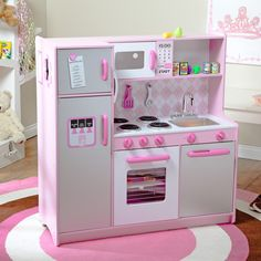 Have to have it. KidKraft Argyle Play Kitchen with 60 pc. Food Set $189.98