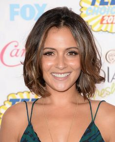 Italia Ricci Short Bob with Center Part