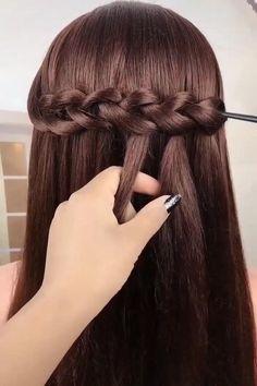 Short Hair Bridesmaid Hairstyles, Cute Hairstyles For Prom, Easy Hairstyles For Thick Hair, Easy Hairstyle Video, Girly Hairstyles, Simple Bridesmaid Hair, Braids For Short Hair, Pixie Hairstyles, Wedding Hairstyles