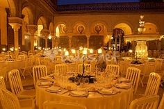 Banquet in Casa Pilatos... i think i would die and go to heaven if i celebrated it here!