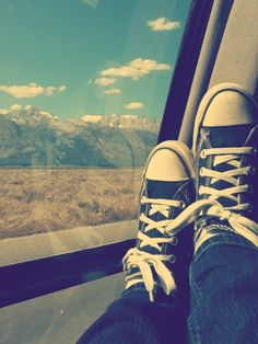 Converse :) I took this one with my iPod in Wyoming :)