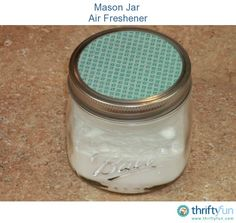 This short video shows you how to make an air freshener with just a few simple ingredients.
