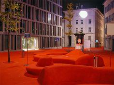 City Lounge (Switzerland) by Carlos Martinez and Pipilotti Rist.