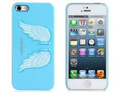 Amazon.com: Tanboo Foldable Wings Silicone Protective Case for iPhone 5 (Blue): Cell Phones & Accessories