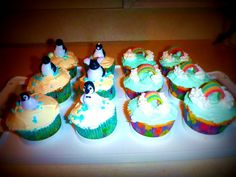 L and B's b day cupcakes