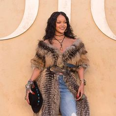 Rihanna brought her star wattage to last night's #DiorCruise 2018 show getting first dibs on the Cruise 2018 collection which she was wearing exclusively at the event itself. #StarsinDior  via DIOR OFFICIAL INSTAGRAM - Celebrity  Fashion  Haute Couture  Advertising  Culture  Beauty  Editorial Photography  Magazine Covers  Supermodels  Runway Models