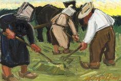 Hubert Malfait, The hay harvest