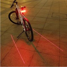 Bicycle intelligence tail light cycling road bike MTB laser remote control turn round safty warning black color FREE SHIP