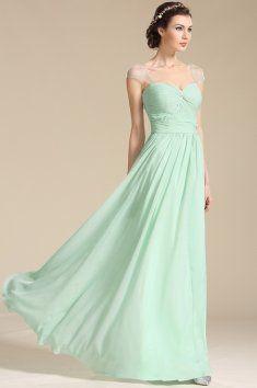 Mint zelené společenské šaty na ramínka jemné společenské šaty na širší  ramínka skládaný živůtek a dlouhá f9c5614a4d