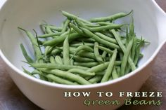 Freeze summer veggies and have them all year! Also recipes for how to cook them.