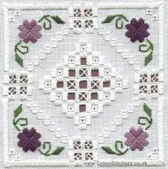 Advice for Beginner Hardanger Stitches - Your Embroidery Methods Types Of Embroidery, Learn Embroidery, Embroidery Patterns Free, Hand Embroidery Stitches, Embroidery Techniques, Embroidery Kits, Cross Stitch Embroidery, Embroidery Designs, Drawn Thread