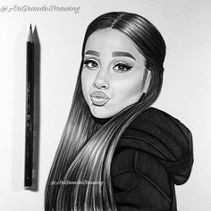 She looks so cute here !😍😩 please tag @arianagrande below and repost if you want ! @arianagrande @dangerouswomantour #arianagrandedrawing #arianagrande