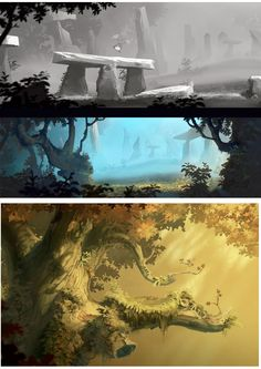 Mais artes de Rayman Legends, desta vez por Christophe Messier | THECAB - The Concept Art Blog