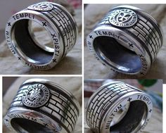 The Knights Templar rings.