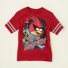Angry Birds graphic tee