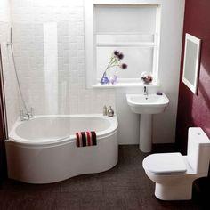 petite salle de bains avec baignoire douche 27 ides sympas - Petite Salle De Bain Avec Baignoire D Angle