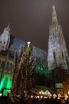 #elviajemehizoamí os desea una #FelizNavidad y un próspero #AñoNuevo #Feliz2016 con una foto muy navideña de #Viena