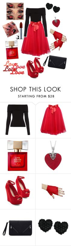 """""""Love Love Love"""" by thistleofmilk ❤ liked on Polyvore featuring A.L.C., Relaxfeel, Kate Spade, Betsey Johnson and By Terry"""