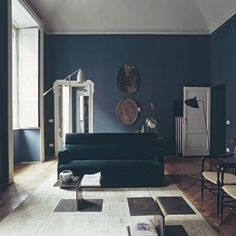 Blue, velvet. Meet DIMORESTUDIO, the Milanese duo who have a way with painterly palettes and tactile forms. Link in bio!