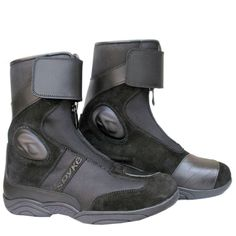 Spyke Ring WP #leather #motorcycle #boots for #touring Motorcycle Leather, Motorcycle Boots, Touring, Leather Boots, Style, Clothing Stores, Jackets, Motorbikes, Swag