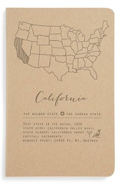 California | Blackbird Letterpress Journal