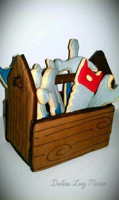 3D Tool Box Cookies