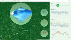 Truth & Beauty - GROW Soil Moisture Maps Interactive Sites, Web Application, Data Visualization, Flower Power, Maps, Moisturizer, Beauty, Moisturiser, Blue Prints