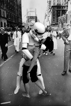 Star Wars Beso...jajaja